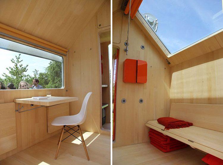 Tiny house Diogene, gli interni