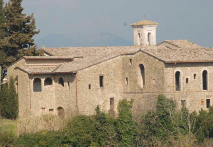 Ex Convento dei Cappuccini a Bettona in Umbria, edificio Nzeb