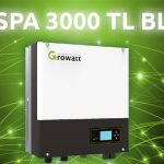 Inverter con batteria Growatt SPA 3000 TL BL