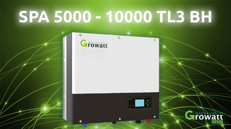 Inverter con batteria Growatt