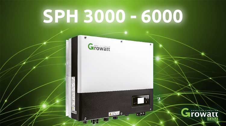 Inverter ibrido all-in-one Growatt SPH 3000~6000