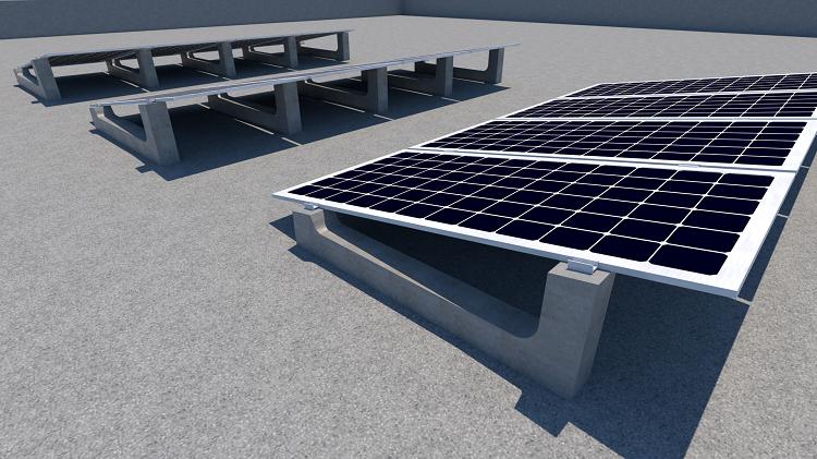 Sistema di montaggio Sun Ballast
