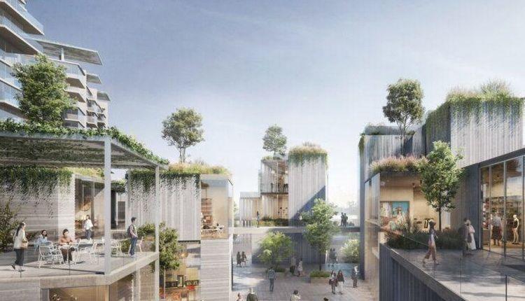 Tiered Garden Complex: l'esperimento urbano per la città di Chengdu