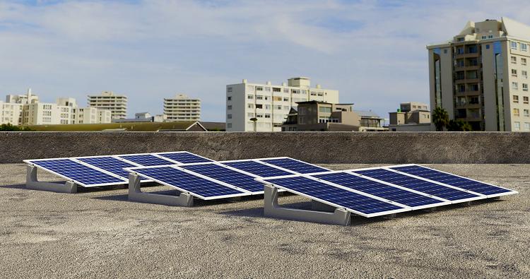 Pannelli fotovoltaici su zavorra Sun Ballast