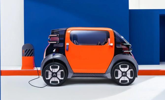 Citroën con la minicar elettrica Ami One