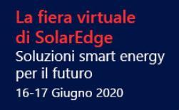 Nuovi prodotti e tecnologie nella fiera virtuale di Solaredge
