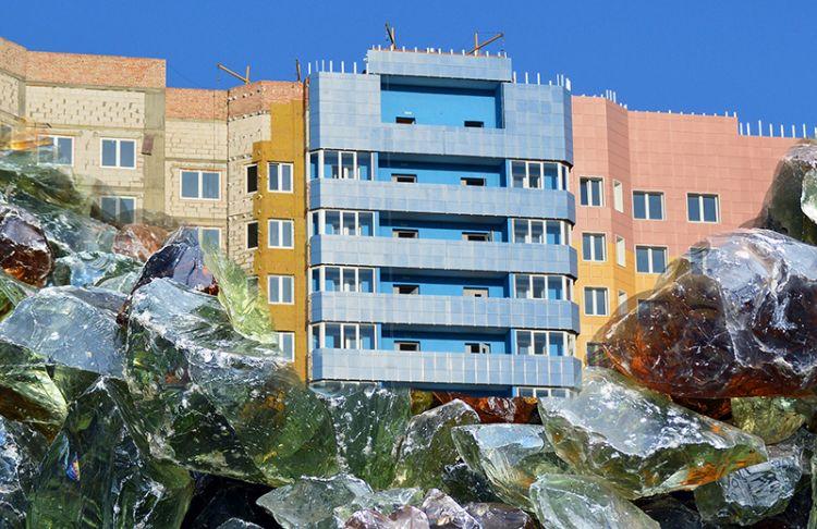 Isolanti naturali per l'edilizia da vetro riciclato e alghe