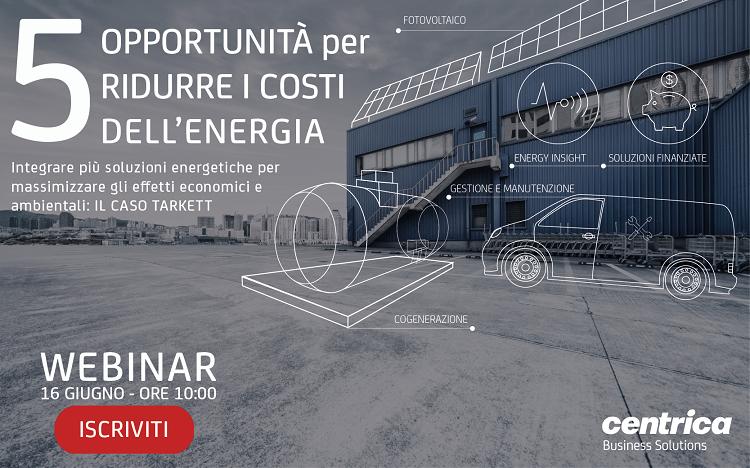 5 opportunità per ridurre i costi dell'energia