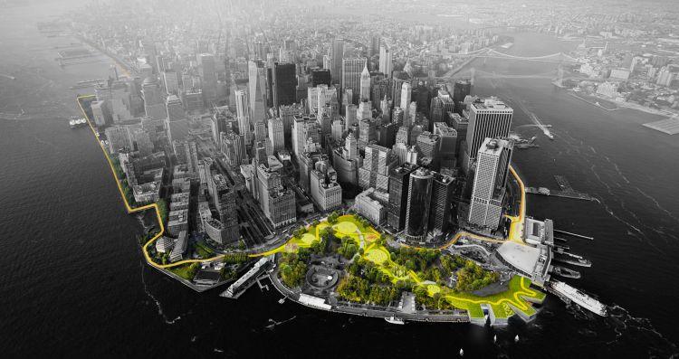 Big U di The Big Team è il progetto vincitore del concorso internazionale Rebuild by Design Hurricane Sandy Design Competition