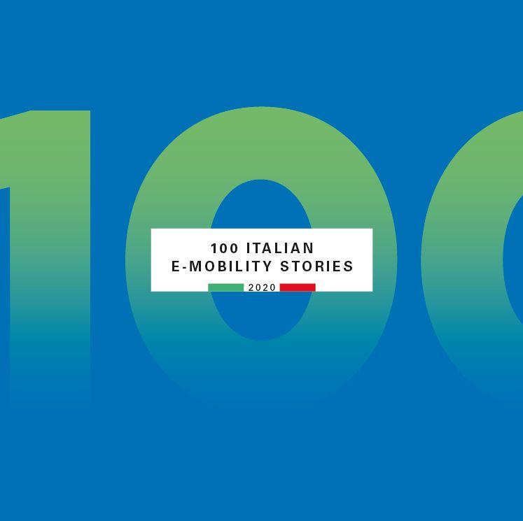 """report """"100 Italian E-Mobility Stories di Fondazione Symbola ed Enel"""