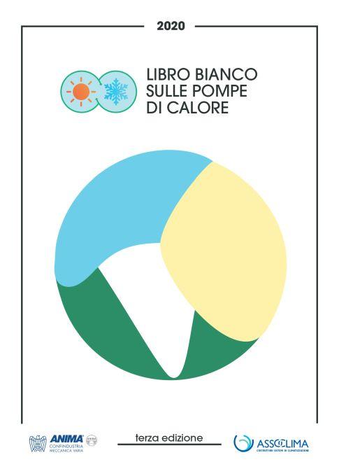 La copertina del Libro Bianco Assoclima sulle Pompe di Calore