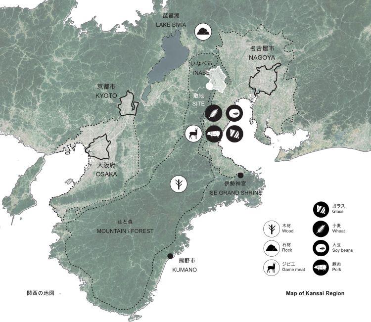 La regione di Inabe e il suo parco
