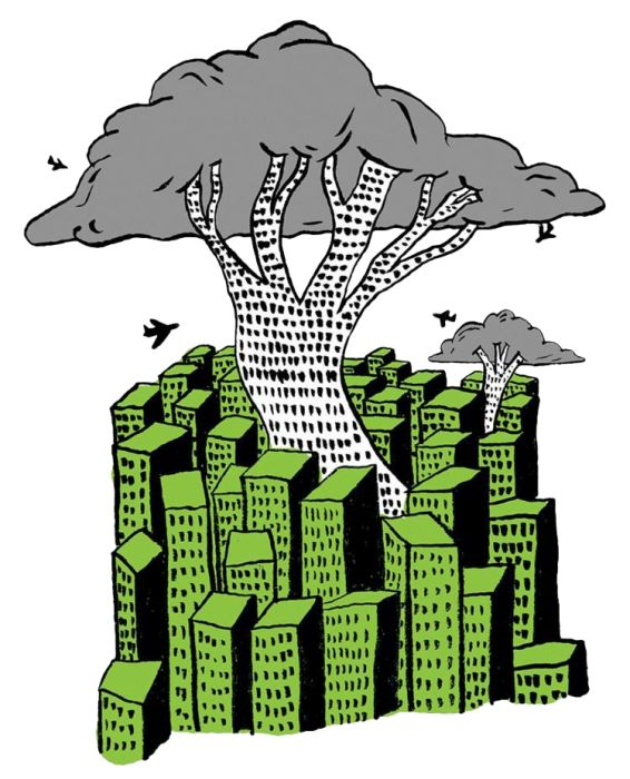 Forestazione urbana, confronto Europa e Italia