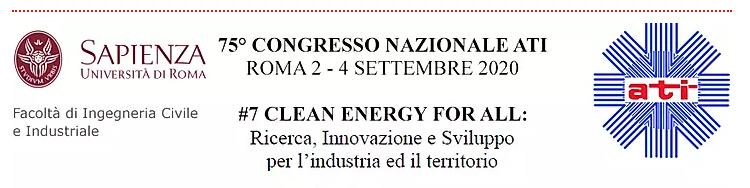 """75° Congresso ATI 2020 """"#7 Clean Energy Fo All"""""""