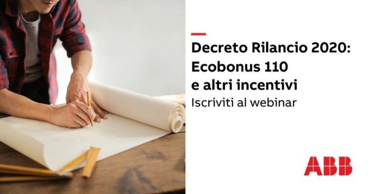 Webinar ABB e Politecnico di Milano su Ecobonus 110%