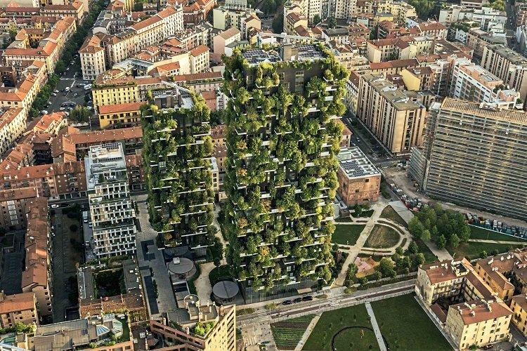 Il Bosco Verticale a Milano