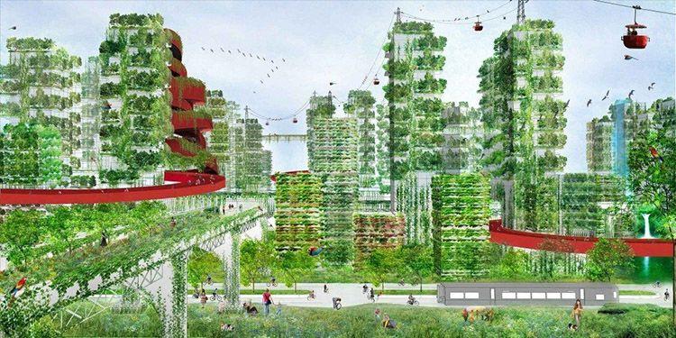 Stefano Boeri, masterplan città-foresta di Shijiazhuang