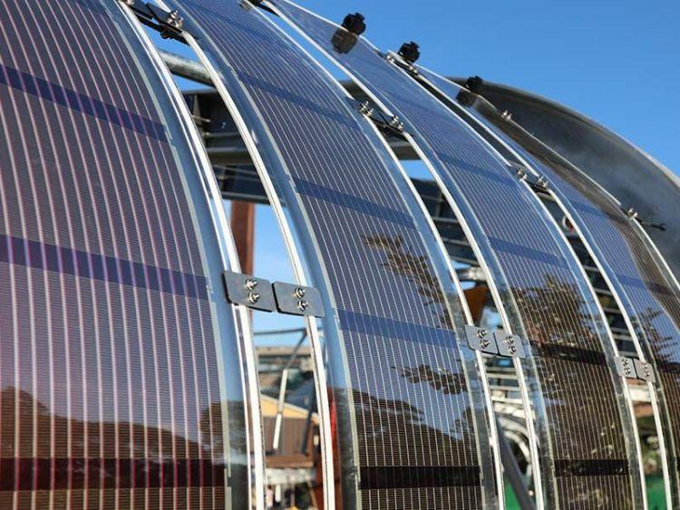 Pannelli fotovoltaici stampati flessibili e leggeri