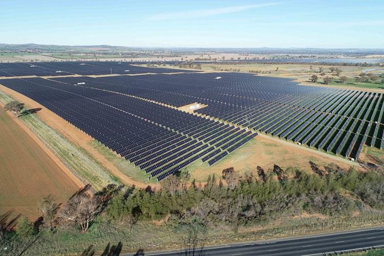 Parco solare realizzato a Sidney