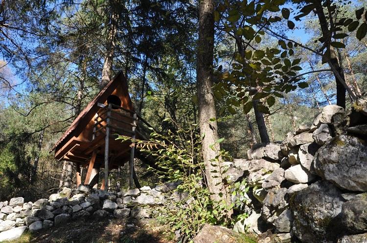 Tree-village a Claut