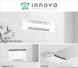 Design, silenziosità e tecnologia: i nuovi fancoils INNOVA 17