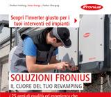 Fronius per il tuo Revamping: qualità ed esperienza 24