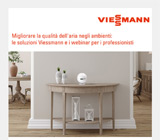 Migliorare la qualità dell'aria indoor con Viessmann 25