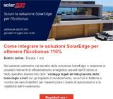 Webinar: Scopri la soluzione SolarEdge per l'Ecobonus 10