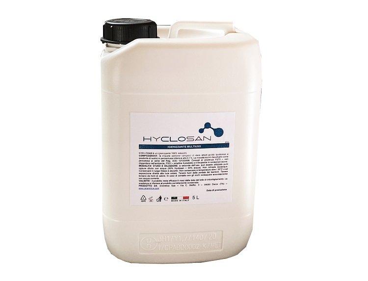 Hyclosan: soluzione igienizzante 100% ecosostenibile