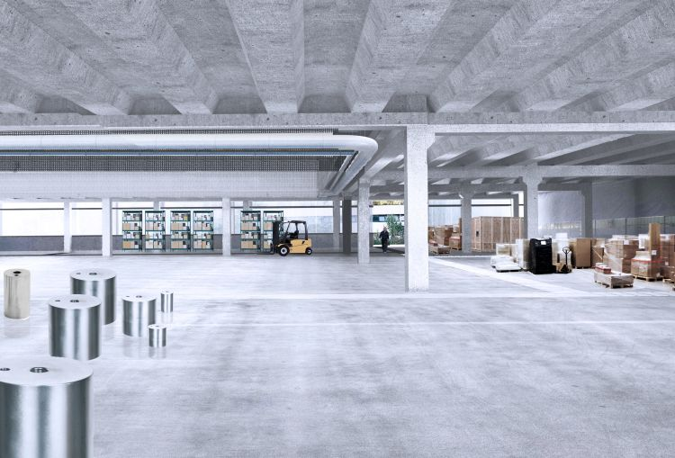 Officina 2.0 nel Chianti: il magazzino