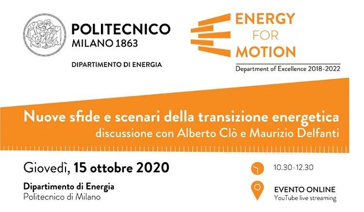 Nuove sfide e scenari della transizione energetica
