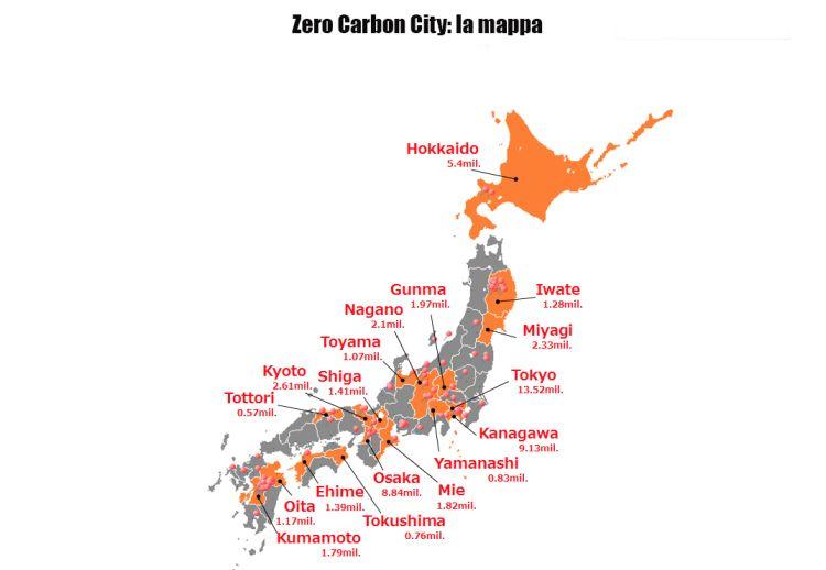 Zero Carbon City: il piano di Tokyo e di altre 101 città del Giappone