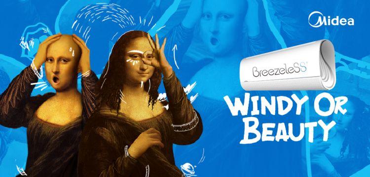 Midea lancia su tik tok la campagna #Windyourbeauty