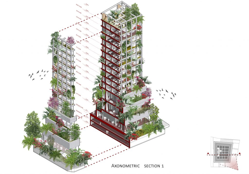MM residential building a Beirut