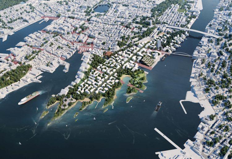 Progetto per la riqualificazione dei Docks di Bergen