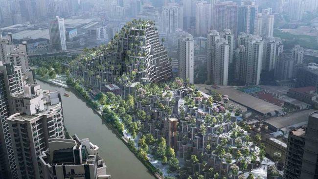 Progetto 1000 Trees a Shanghai, Heatherwick Studio: architettura e natura