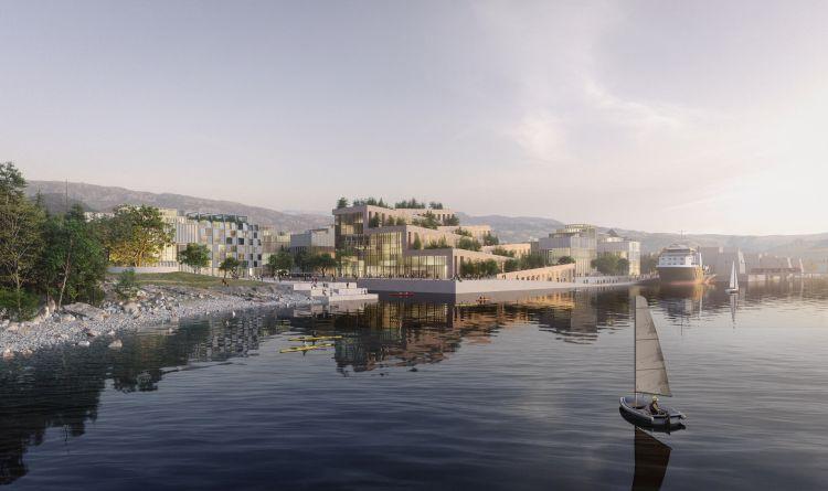 Il futuro sostenibile dei Docks di Bergen