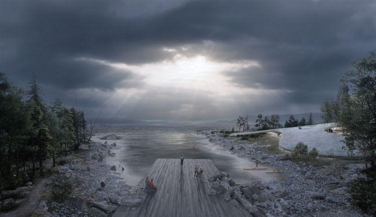 Progetto per la riqualificazione dei Docks di Bergen in Norvegia