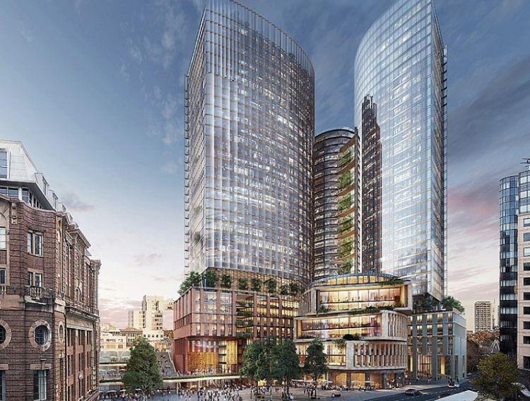 Le due torri Central Place Sydney