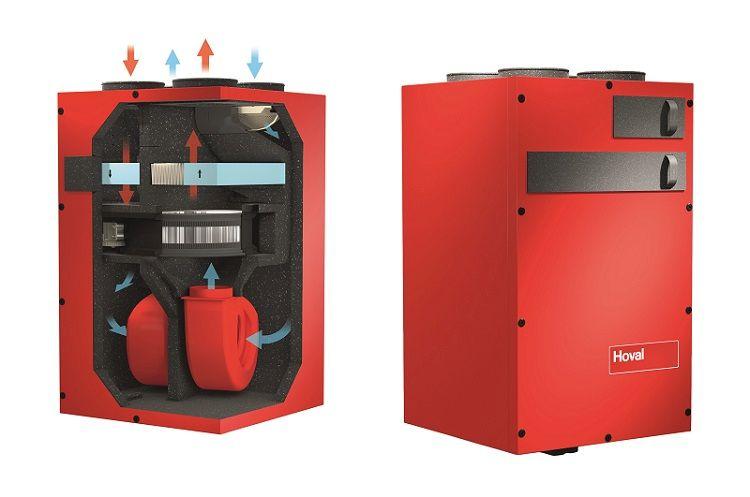 Sistema di ventilazione meccanica controllata HomeVent® di Hoval