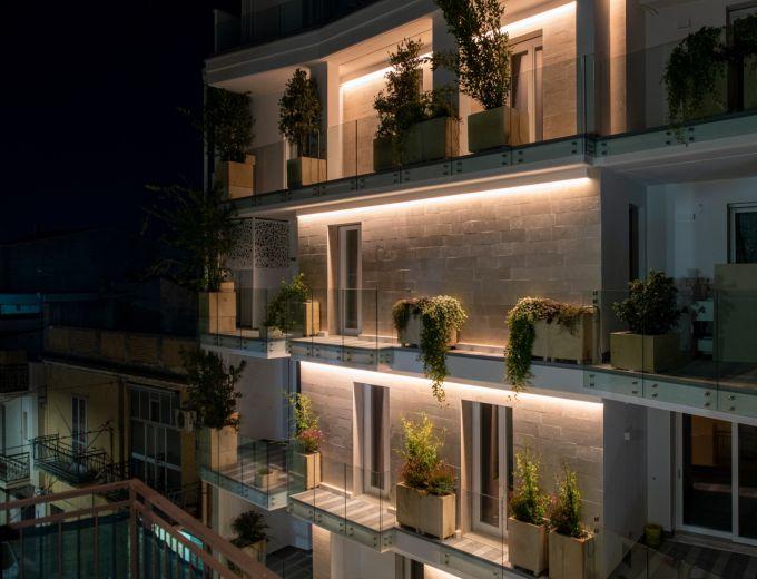 Oro Bianco, progetto in bioedilizia e primo giardino verticale in Puglia