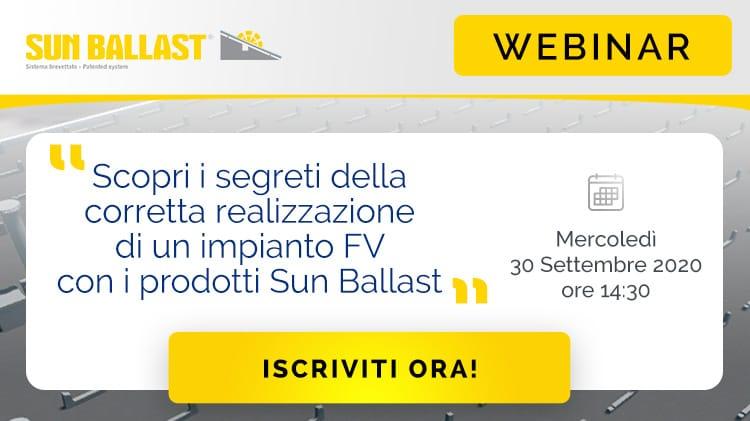 Webinar Sun Ballast