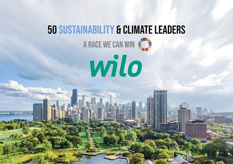 Wilo selezionata tra i 50 leader globali per la sostenibilità