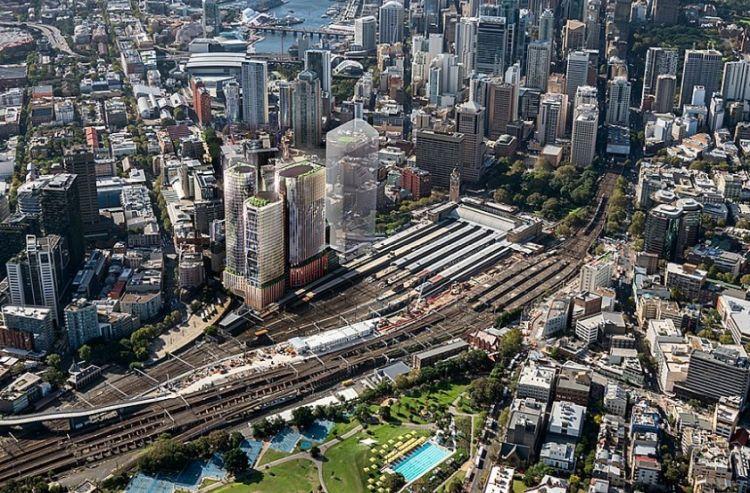 Il distretto a Sidney in cui sorgeranno le prime torri con facciata controllata dall'Ai