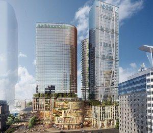 Sydney: prime torri con facciata controllata dall'Ai e alimentate da rinnovabili