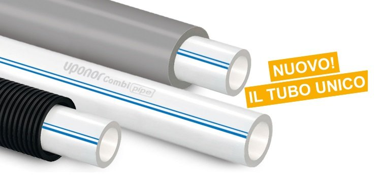 Uponor Combi Pipe: la nuova tubazione PE-Xa