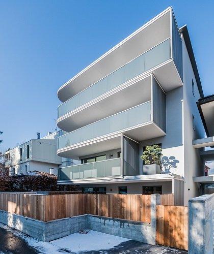 Complesso residenziale Villa Paola realizzato con isolamento termico Isokorb