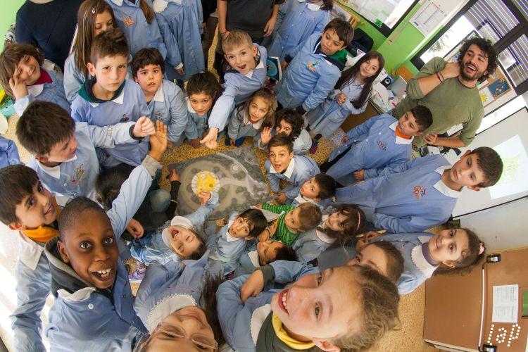 Uno de laboratori di partecipazione che hanno portato al progetto della scuola di Pacentro