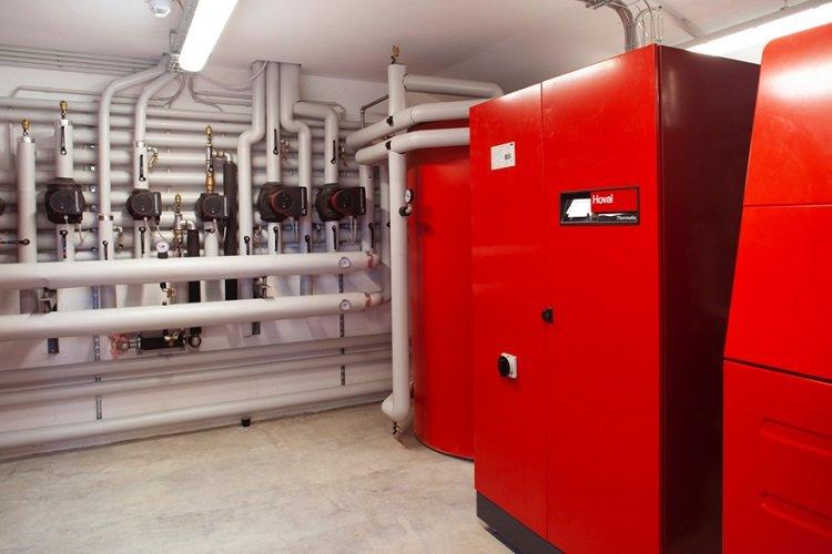Pompa di calore geotermica Hoval