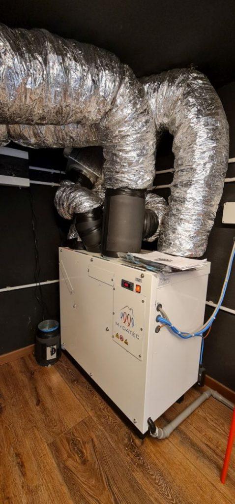 Sistema per la climatizzazione e sanificazione MyDatec al Teatro Factory 32 di Milano